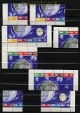 DDR Mi #  926/33 Zusammendrucke WZd 58-SZd 43 gestempelt (33135)