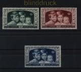 Belgien Mi # 396/98 postfrisch für das Kind  (33500)