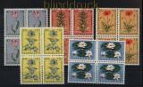 Niederlande Mi # 746/50 postfrisch Sommermarken 1960 4er-Blöcke (33556)