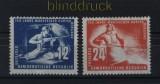 DDR Mi #  273/74 postfrisch Mansfelder Kupferschieferbergbau (33441)