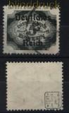 dt. Reich Dienst Mi #  51 gestempelt geprüft Infla Berlin (33381)