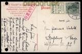 dt. Reich Zusammendrucke Mi # S 1.7 EF auf Postkarte (33385)