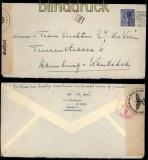 Niederlande Auslands-Zensur-Brief Den Haag 1940 (33409)