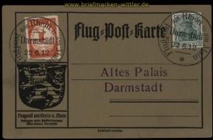 dt. Reich Flugpost Mi # II am Rhein und am Main  (33265)