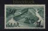 Saarland Mi # 238 z I postfrisch Urdruckmarke (33315)