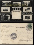 Bad Bentheim sw-AK 7 Ansichten 1905 (d5837)