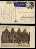 Danzig Mi # 204 auf Luftpostansichtskarte Danzig 1933 (33941)