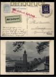 dt. Reich AK 31. Philatelistentag Hamburg mit Luftpost nach Danzig SSt. 1925 (34067)