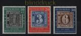 Bund Mi #  113/15 postfrisch 100 Jahre Deutsche Briefmarken postfrisch (33885)
