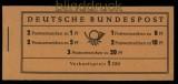 Bund Markenheftchen Mi # 4 Y II postfrisch (34036)