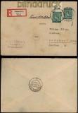 all. Besetzung Gemeinschaftsausgaben Mi # 930 MeF OR Platte R-Brief (33261)