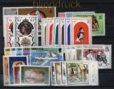 Gibraltar postfrische Ausgaben aus 1971 bis 1983 (33983)