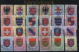 Luxemburg Kantonalwappen 4 gestempelte Ausgaben (33992)