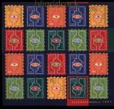 Niederlande Mi # 1635/40 postfrisches Folienblatt Dezembermarken 1997 (33999)