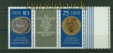 DDR Zusammendrucke Mi # 1592/93 postfrisch WZd 230 L Leerfeld (40624)