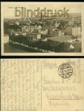 Danzig sw-AK Zoppot von Königshöhe Feldpost 1918 (d6006)