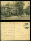 Konitz sw-AK Bahnhofstrasse Feldpost 1917 (d6041)