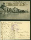 Graudenz sw-AK Weichelseite Feldpost 1915 (d6045)