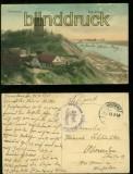 Graudenz farb-AK Schlossberg Feldpost 1915 (d6047)