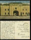 Graudenz farb-AK Niedertor und Feste Coubiere Feldpost 1918 (d6052)