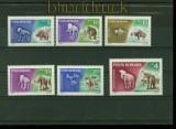 Rumänien Mi # 2553/58 Prähistorische Tiere postfrisch (40557)