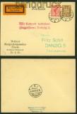 dt. Reich Privat-GSK PP 90 C 1 Elbing 13.7.1926 nach Danzig (40396)