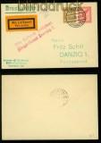 dt. Reich Privat-GSU PU 105 Stolp 13.7.1926 nach Danzig (40178)