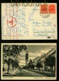 Ungarn Auslandspostkarte deutsche Zensur 1941 (40305)