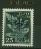 dt. Besetzung 2. WK Laibach Mi # 36 Aufdruckmarke postfrisch (34583)