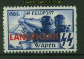 dt. Besetzung 2. Weltkrieg private Ausgaben Belgien Mi # XX A postfrisch (34607)
