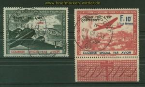 dt. Besetzung 2. Weltkrieg private Ausgaben Frankreich Mi # IV/V gestempelt (34652)