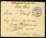 DSWA Feldpostbrief Hereroaufstand aus Kiel nach Windhuk (34591)
