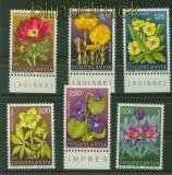 Jugoslawien Mi # 1330/35 Heilpflanzen postfrisch (34223)