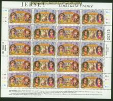 Jersey Mi # 1616 Urlaub auf Jersey; Europa: Besuche postfrischer Kleinbogen (30747)