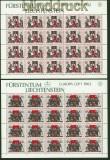 Liechtenstein Mi #  791/92 Europa 1982 kompltter Kleinbogensatz postfrisch (34742)