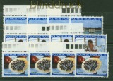 Französisch Polynesien 4 x Mi # 347/44 Perlenindustrie postfrisch (34761)