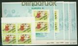 Portugal Madeira 4 x Mi # 70 und 4 x Block   2 postfrisch Europa 1981 (34763)