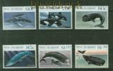 Cook-Inseln Mi # 958/69 Wale postfrisch (41415)