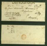 Vorphila-Brief Fürstenau nach Bramsche 1836 (40977)