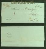 Vorphila-Briefhülle Freren nach Lingen (40978)