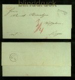 Vorphila-Briefhülle Freren nach Lingen (40979)