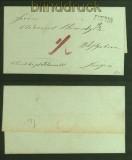 Vorphila-Briefhülle Freren nach Lingen (40981)