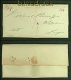 Vorphila-Brief Freren nach Lingen 1845  (40982)