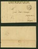 Vorphila-Brief Osnabrück nach Lingen 1846 (40997)