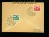 dt. Reich Mi # 673/74 auf FDC Ersttagsbrief Gautheater Saarpfalz (41040)
