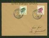 dt. Reich Mi # 692/93 auf FDC Ersttagsbrief Reichsgartenschau Stuttgart (41042)