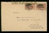 Abstimmungsgebiete Oberschlesien Mi # 26 MeF Gleiwitz Auslandsbrief (41089)
