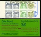 Berlin Markenheftchen Mi # 12 b mit Zählbalken postfrisch (41143)