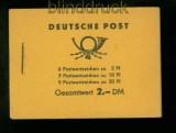 DDR Markenheftchen Mi # 3 b 1 postfrisch Fünfjahresplan 1960 (41180)