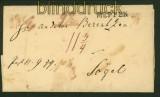 Vorphila-Briefhülle Meppen nach Sögel (34858)